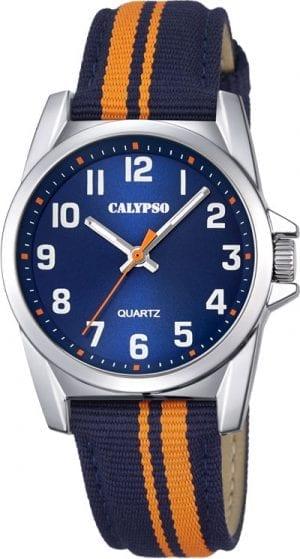 Calypso Barneur 5 Atm Blå/Orange Natorem