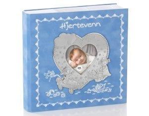 Fotoalbum Hjertevenn Lys Blå