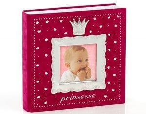 Fotoalbum Prinsesse Mørk Rosa