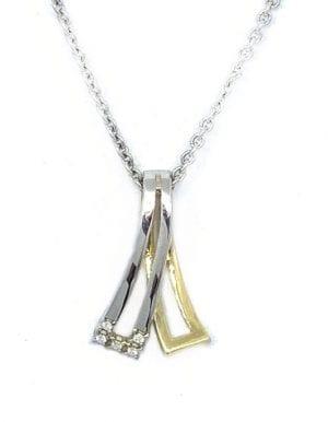 Gull Anheng M/ Diamant 0