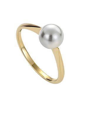 Ringer med perle